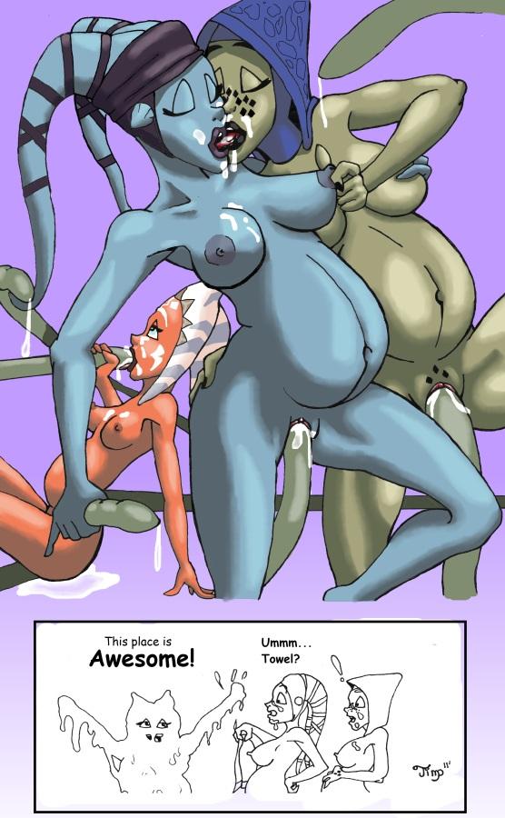 lek twi star sex wars Kim possible comic