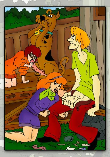 doo brothers boo sadie mae the scooby meets Scooby doo mystery incorporated xxx