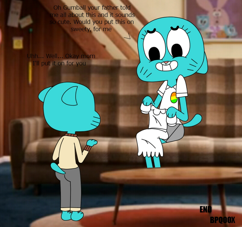 gumball amazing blowjob the of world Overly attached girlfriend