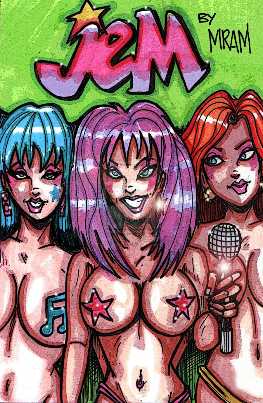 holograms and jem the danse Prison school vice president nude