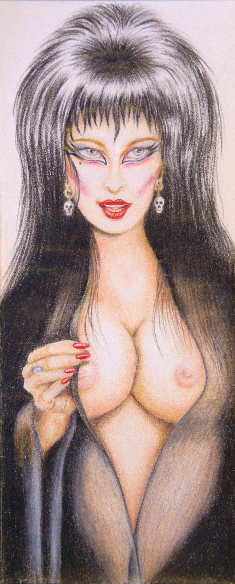 of dark tits mistress elvira the Black rock shooter