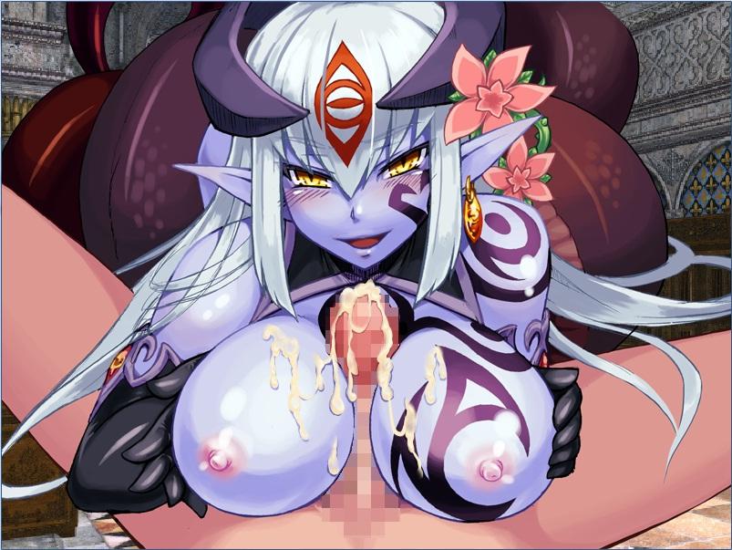 gets girl cum filled horse with Hyakka ryouran samurai girls uncensor