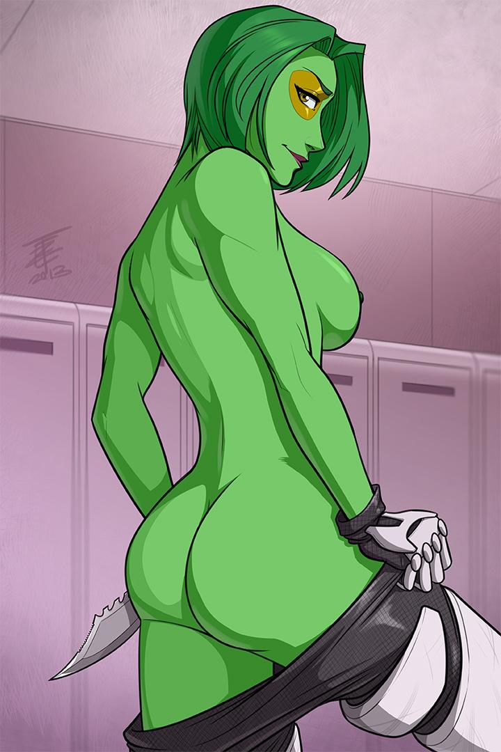 the galaxy guardians of gamora nude Dungeon ni deai wo motomeru no ha machigatteiru darou ka