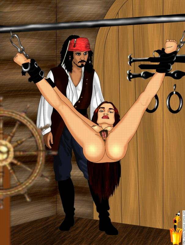 the pirates of caribbean bosun How to get to mac'aree