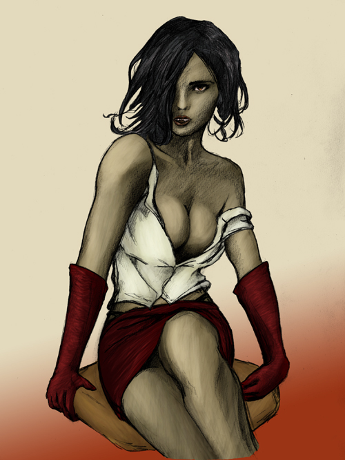 the clothes bloodlines masquerade vampire Code lyoko odd della robbia