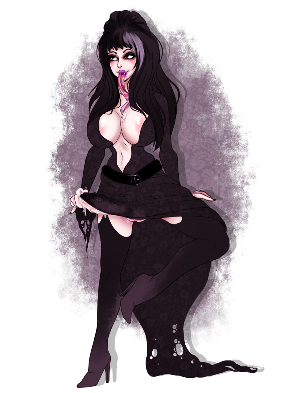 the of mistress elvira tits dark French maid beauty and the beast