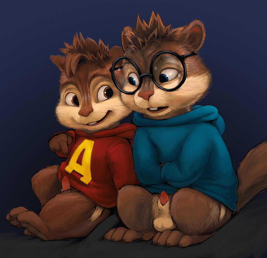 alvin eleanor and chipmunks the Uni the unicorn dungeons and dragons