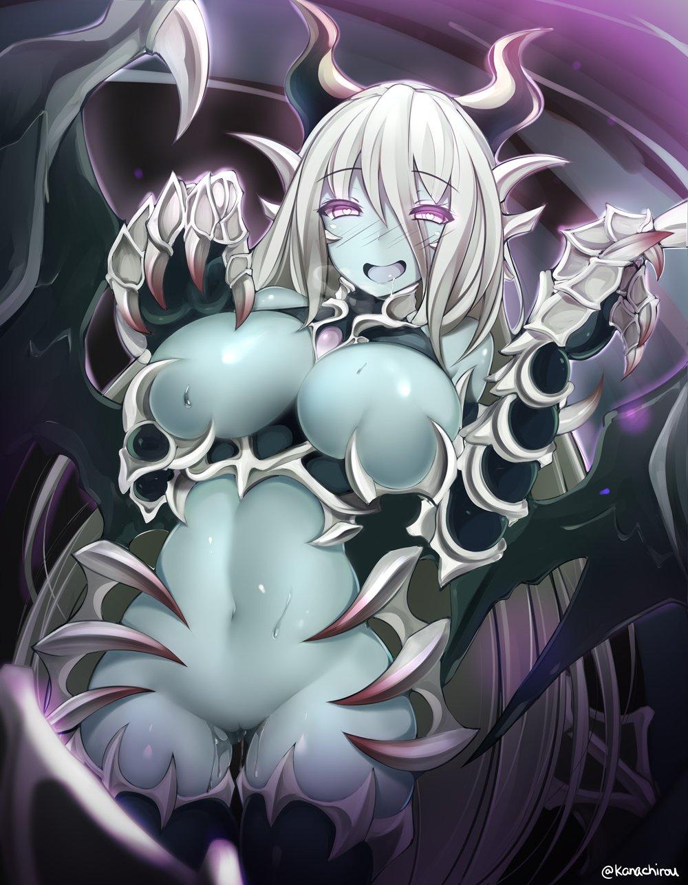 girl quest monster pup dragon Monster girl encyclopedia dark valkyrie