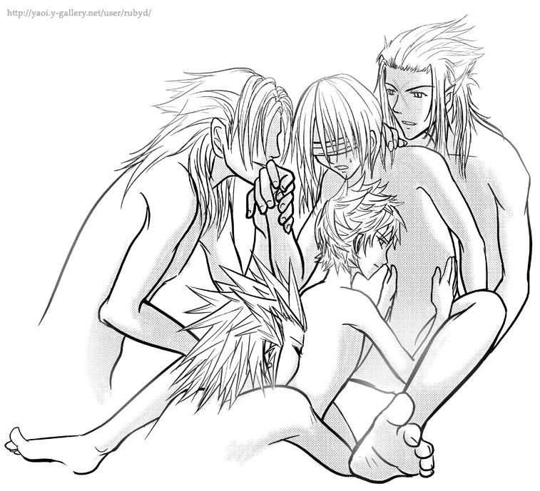 kingdom hearts and namine roxas Kono bijutsubu ni wa mondai ga aru!