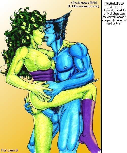 she-hulk Conker's bad fur day sunflower bounce