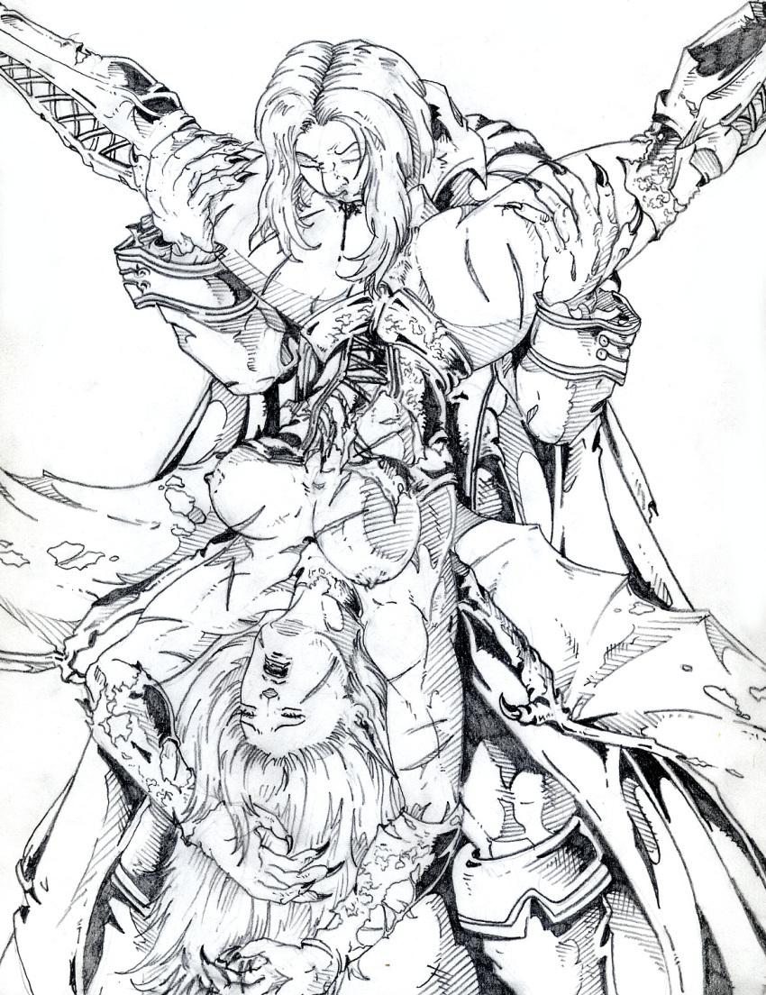 castlevania sorrow headhunter of aria Margaret moonlight no more heroes