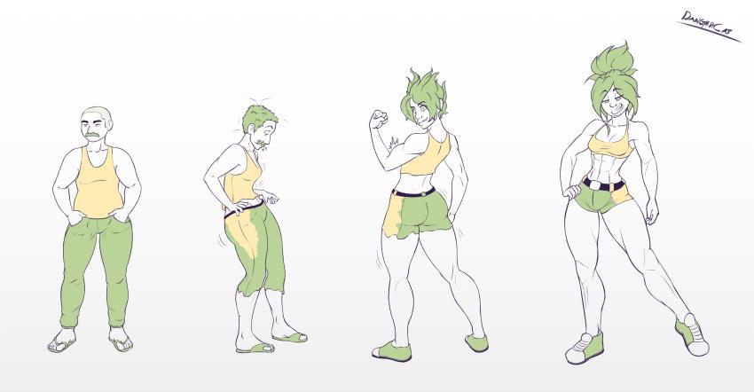 magical transformation male to female Satsuki kill la kill ass