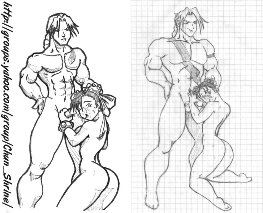 chun fighter naked street li Xenoblade chronicles 2 hentai nia