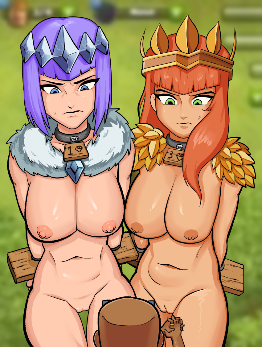 clans clash archer of nude Majora's mask tatl and tael