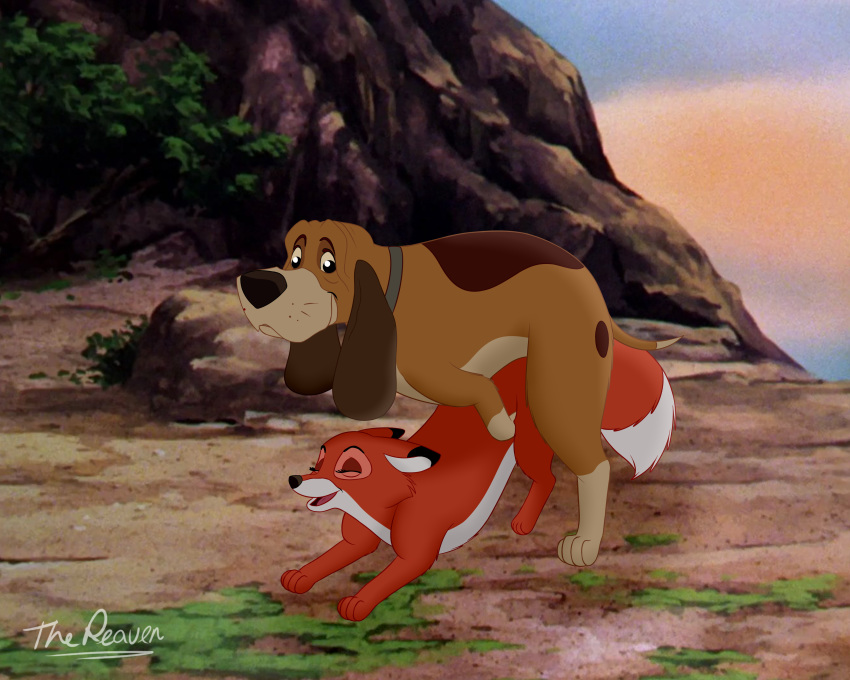 chief and the fox hound from Angels with scaly wings