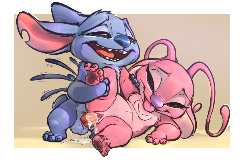 from stitch lilo alien and pink League of legends jinx naked