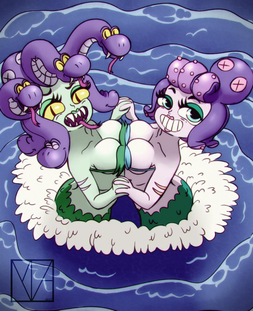 cala maria cuphead Dragon ball gt oceanus shenron