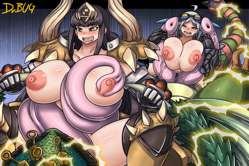 armor monster odogaron world hunter Baka moe heart ni ai wo komete!