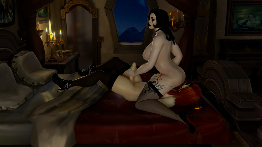 of comics warcraft sex world Makai_kishi_ingrid