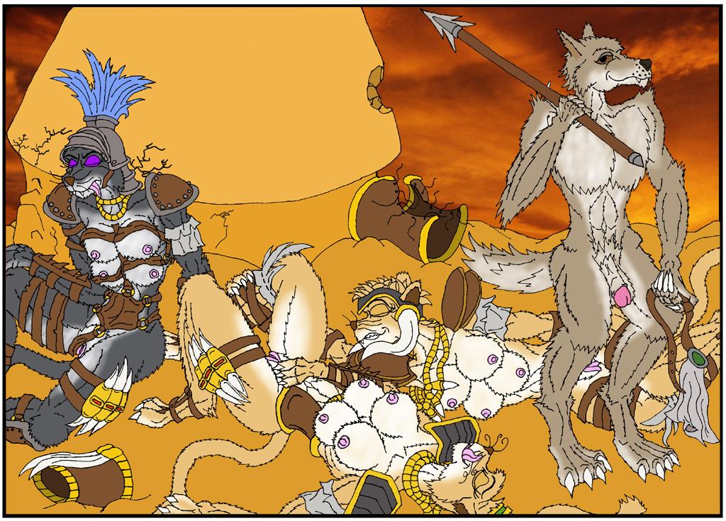 vs diablo 2 werebear werewolf Family guy meg