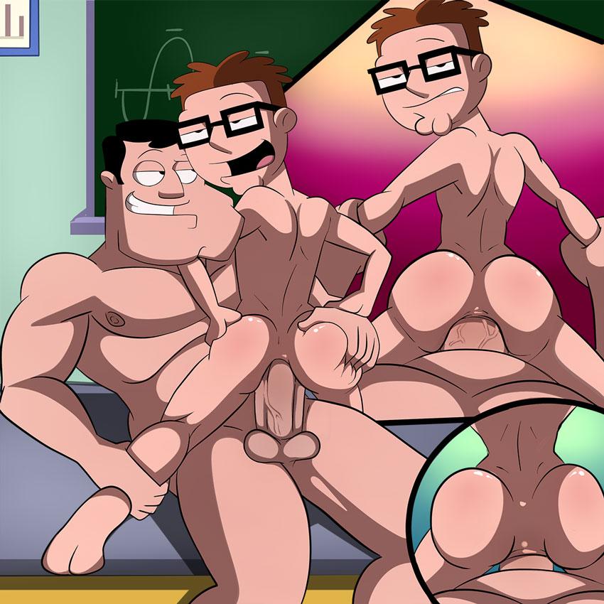 american dad haley naked from My hero academia deku x bakugou